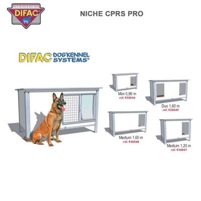 Niche d'extérieur C.P.R. Pro Spéciale chiens destructeurs