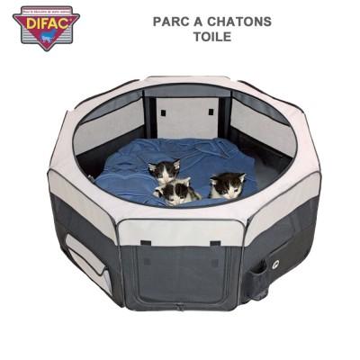 Parc à chatons toile