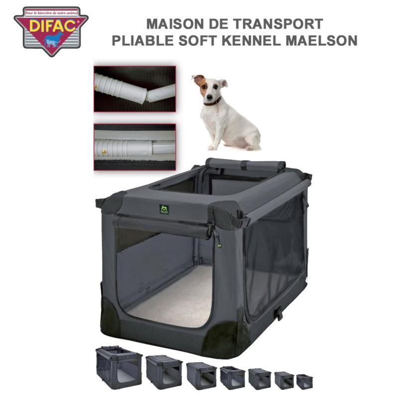 caisse maison de transport chien soft kennel maelson. Black Bedroom Furniture Sets. Home Design Ideas