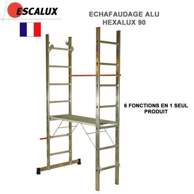 Echafaudage aluminium Hexalux 90