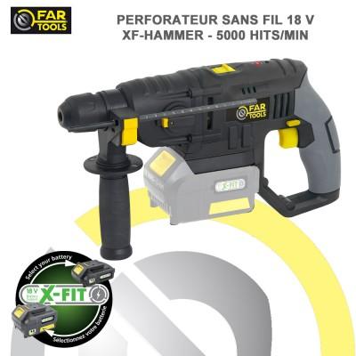 Perforateur sans fil XF-HAMMER 18 V - 1.2 J