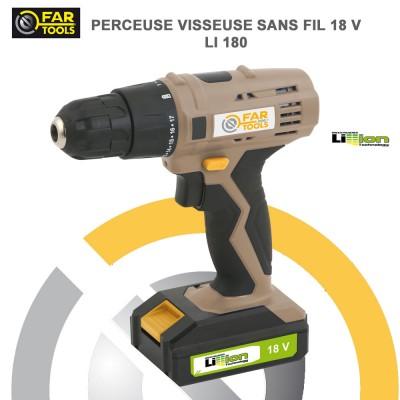Perceuse sans fil LI 180 - 18 V