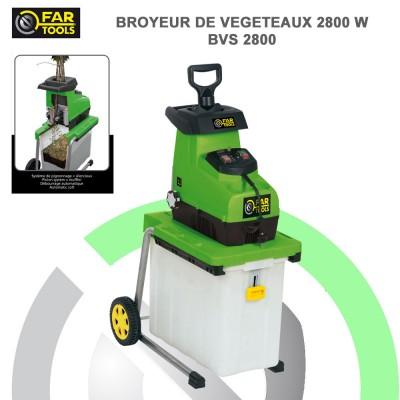 Broyeur de branche végétaux BV2800