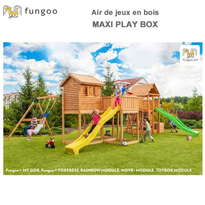 Portique en bois Maxi Set PlayBox