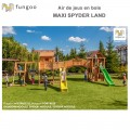 Portique en bois Maxi Set Spyder Land