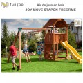 Portique en bois Joy Move Step on Free Time