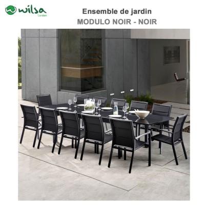 Mobilier De Jardin Barset Stone Blanc 4 Places604070 Wilsa Garden