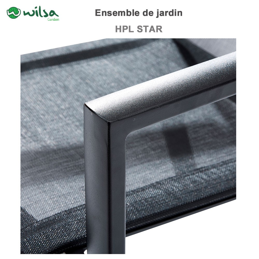 Emejing Salon De Jardin Aluminium Honfleur Gallery - Antoniogarcia ...
