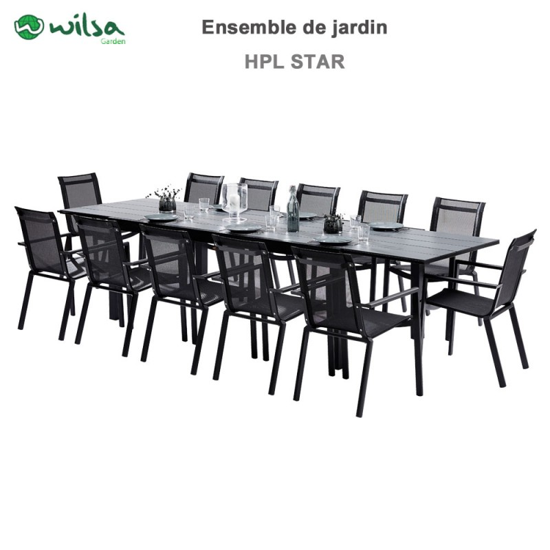 Awesome Salon De Jardin Aluminium Wilsa Contemporary - Doztopo.us ...