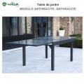 Table de jardin Modulo 6/10 places Grise