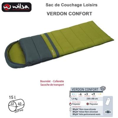 Sac de couchage loisir Verdon Confort