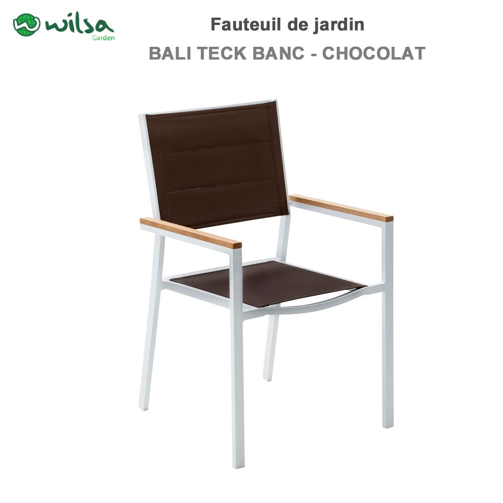 fauteuil de jardin baliteck blanc 141 79. Black Bedroom Furniture Sets. Home Design Ideas