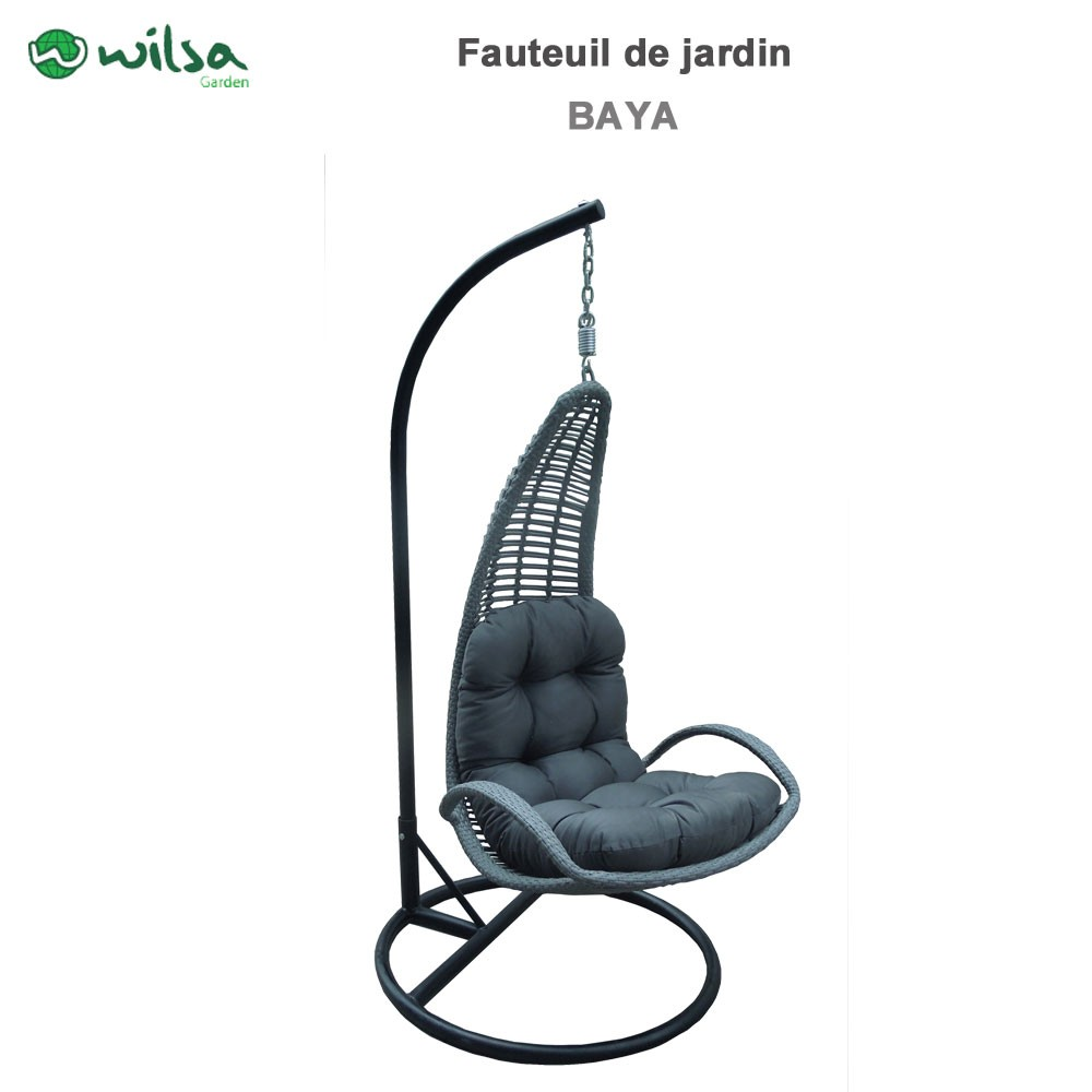 fauteuil suspendu de jardin baya 604050 wilsa garden. Black Bedroom Furniture Sets. Home Design Ideas
