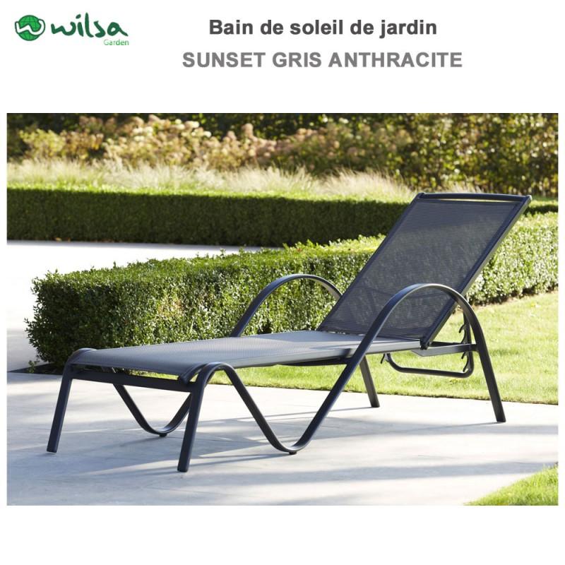 bain de soleil sunset alu textil ne600028 wilsa garden. Black Bedroom Furniture Sets. Home Design Ideas