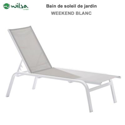 Bain de soleil Week end - Alu-Textilène