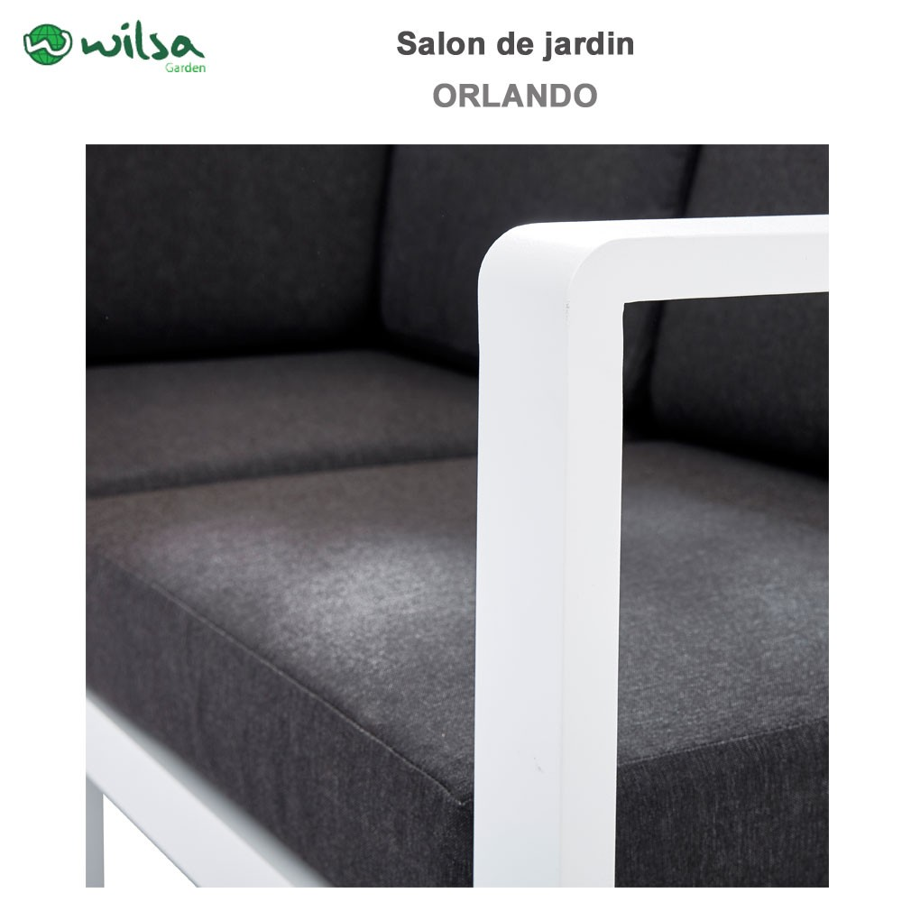 salon de jardin orlando blanc 3 wilsa garden. Black Bedroom Furniture Sets. Home Design Ideas