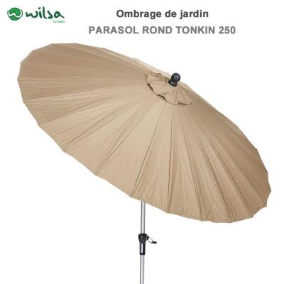 Parasol rond Tonkin 250 cm