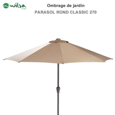 Parasol rond Classic 270 cm