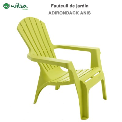 Fauteuil Adirondack Anis