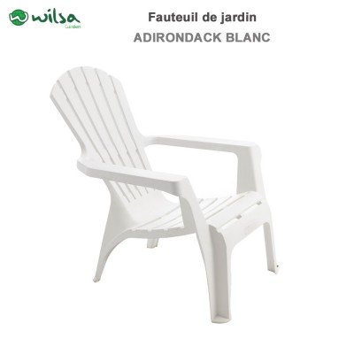 Fauteuil Adirondack Blanc