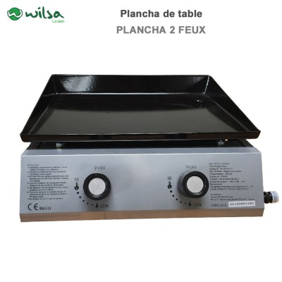 Plancha de table 2 Feux