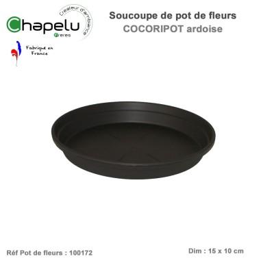 Soucoupe pour pot de fleur rond 17 cm Cocoripot