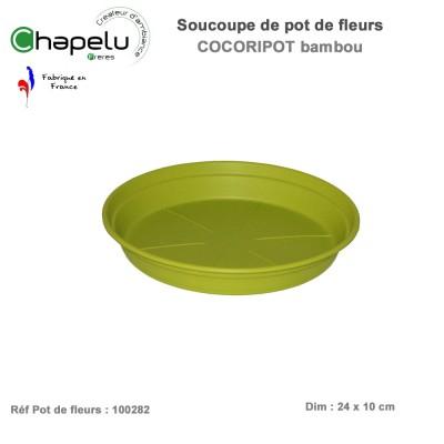 Soucoupe pour pot de fleur rond Cocoripot 28 cm
