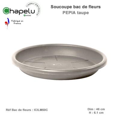 Soucoupe pot de fleur rond Pépia Diam 50 cm