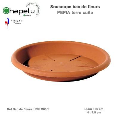 Soucoupe pot de fleur rond Pépia Diam 60 cm