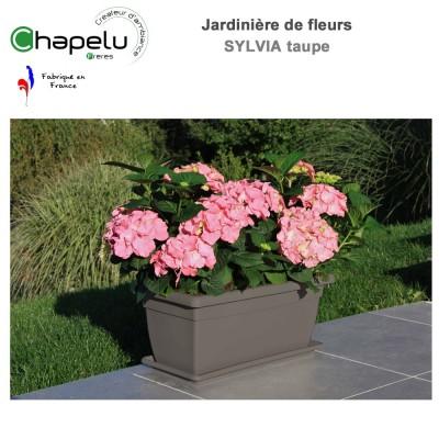Jardinière résine Sylvia 100 x 45 cm