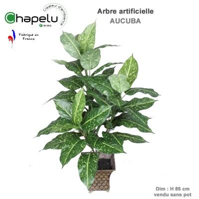 Acuba artificiel en pot H. 85 cm