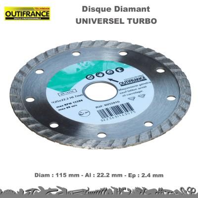 Disques diamant turbo - carrelage - tuile - briques (en lots)