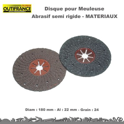 Disques abrasifs semi rigide (Lot de 10)