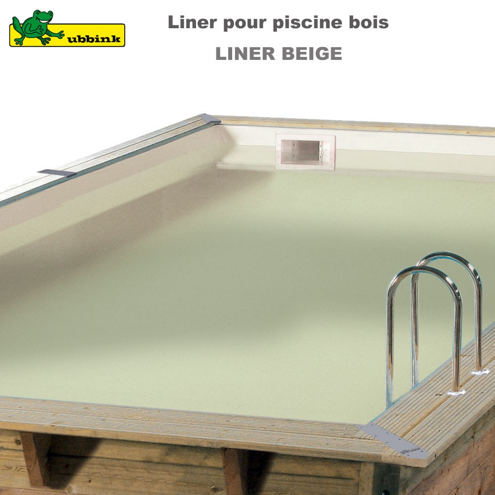 liner beige de remplacement pour piscine. Black Bedroom Furniture Sets. Home Design Ideas