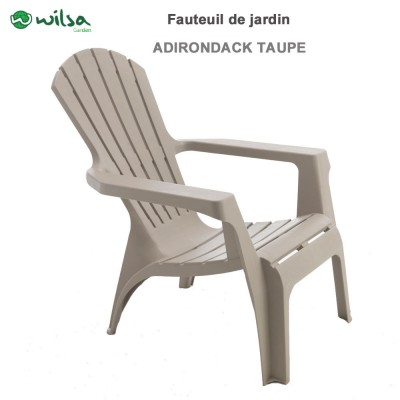 Fauteuil Adirondack Taupe