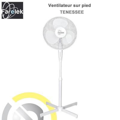 Ventilateur sur pied Tenessee 40 cm