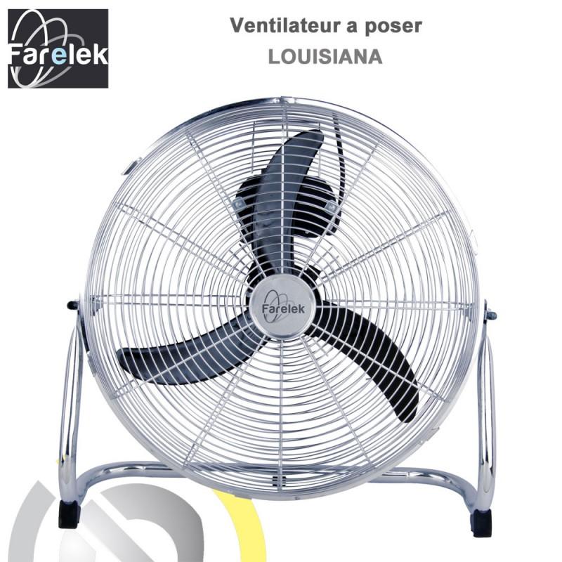 ventilateur turbo louisiana 45cm 112052 farelek 8. Black Bedroom Furniture Sets. Home Design Ideas