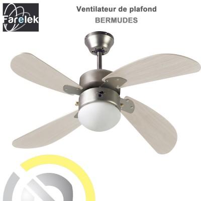 Ventilateur de plafond Bermudes 107 cm
