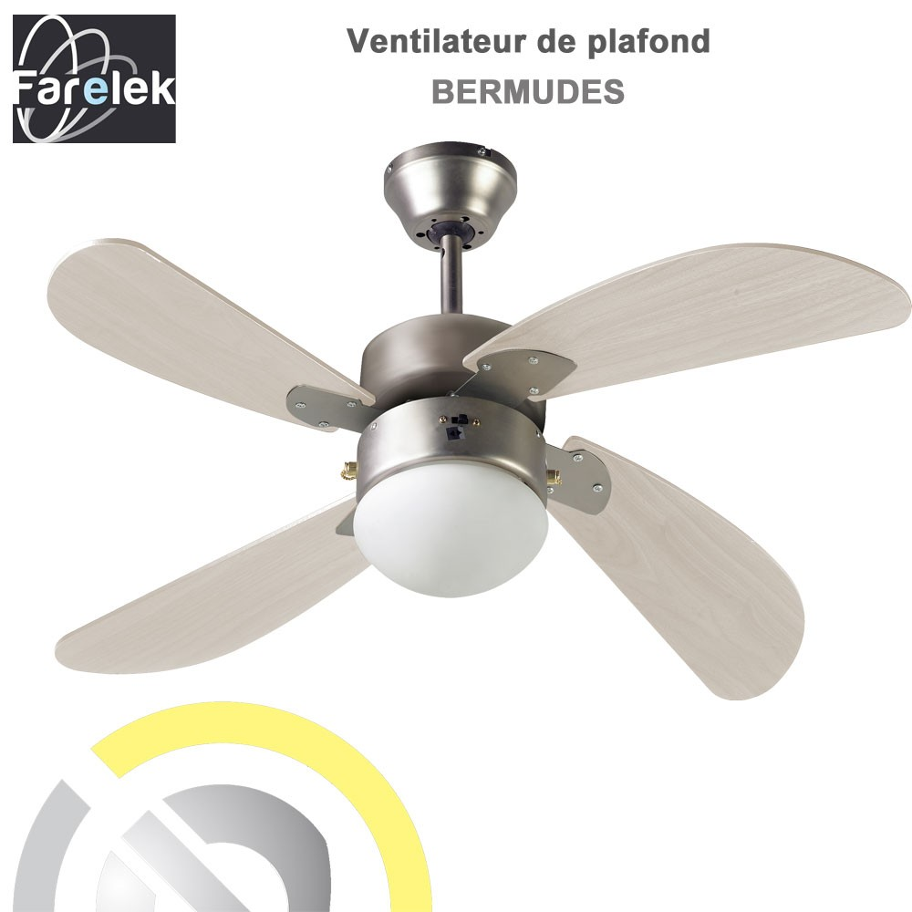 Ventilateur De Plafond Bermudes 107 Cm 112423 Farelek 8