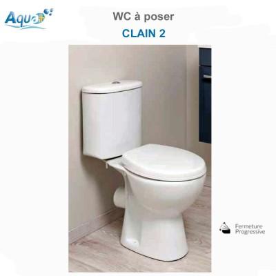 WC à poser Clain