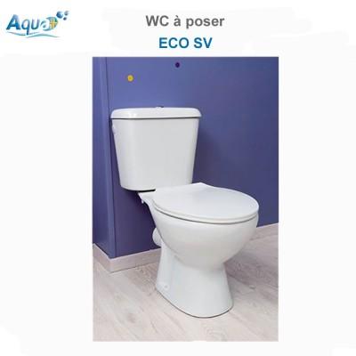 WC à poser Eco sortie verticale