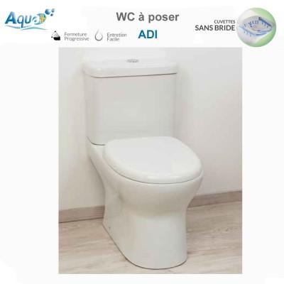 WC à poser Adi sans bride