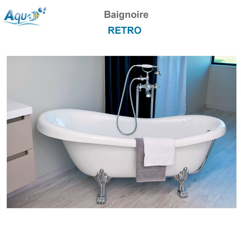 baignoire monobloc retro 1900 sachbai1900a aqua. Black Bedroom Furniture Sets. Home Design Ideas