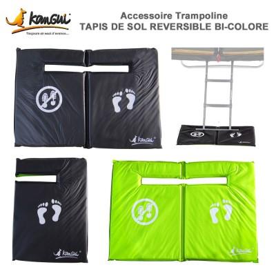 Tapis de sol réversible trampoline