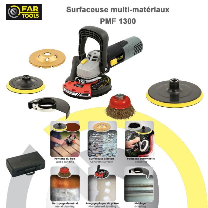 Ponceuse surfaceuse muti-surface PMF 1300