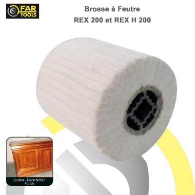 Brosse feutre REX 200 et REX-H 200