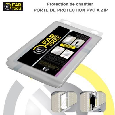 Porte de protection plastique 220 x 112 cm
