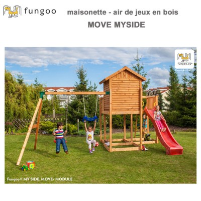 Portique en bois Move Myside