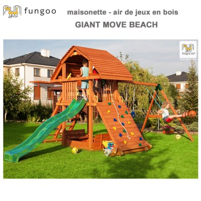 Portique en bois Giant move beach