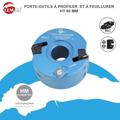 Porte outils à feuillurer Ht 50 mm